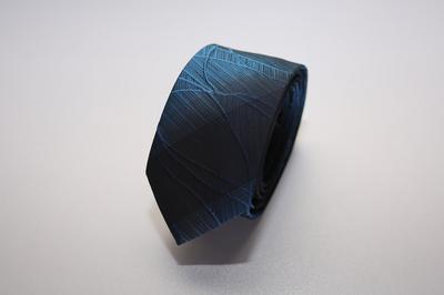 Caravat màu xanh đen vân ẩn C13