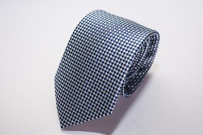 Caravat màu xám dệt xanh C29