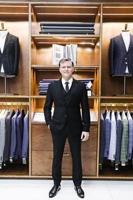Bộ Comple Suit Nam Đen G84.001