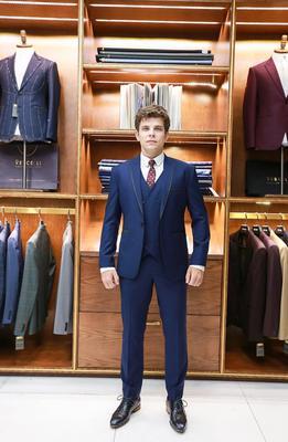 Bộ Suit doanh nhân Xanh đen G84.007